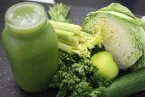 Dieta verde para una semana