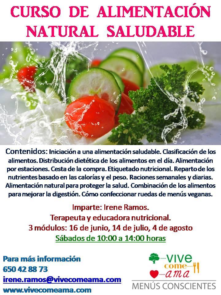 Curso de alimentación saludable