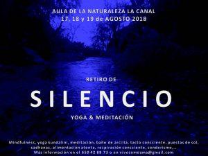 Retiro de silencio, yoga y meditación